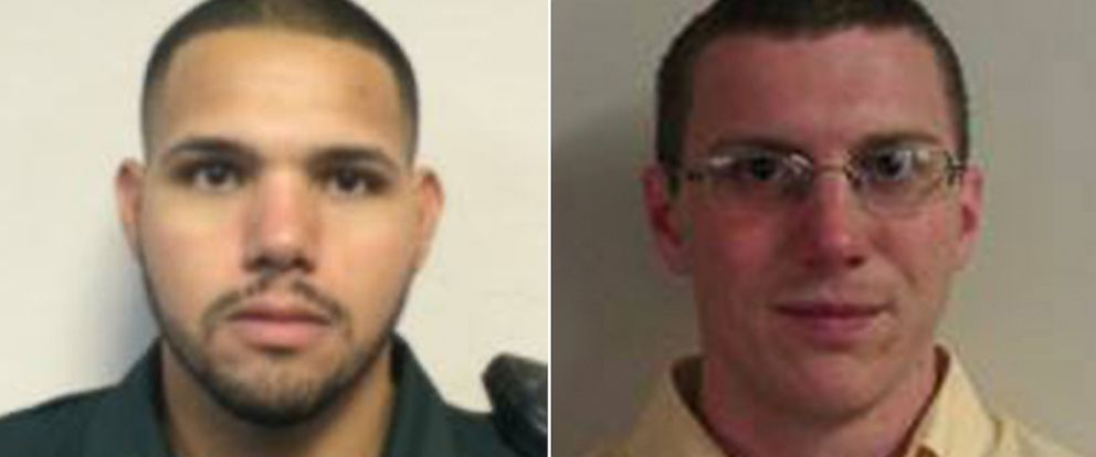 PHOTO: Sergeant Noel Ramirez and Deputy Sheriff Taylor Lindsey, the two sheriffs deputies that were shot and killed in Trenton, Fla. on April 19, 2018.