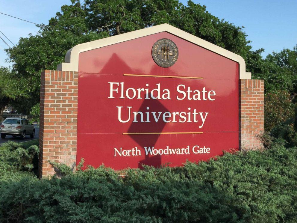 PHOTO: Signage for Florida State University.
