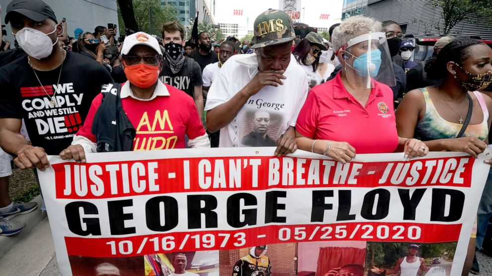George Floyd's friend, witness to his death speaks out: He did not resist arrest thumbnail
