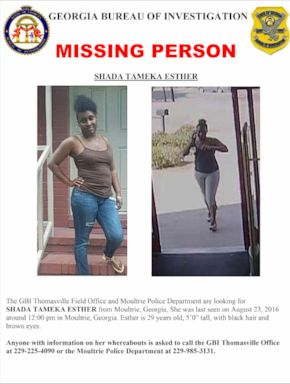 PHOTO: A missing person flyer showing Shada Esther.