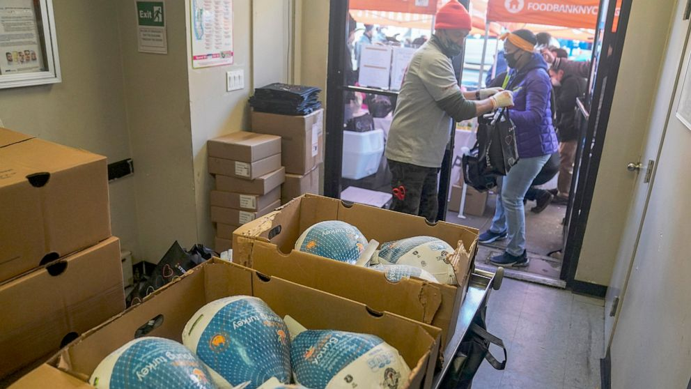 Nonprofits struggle with challenges of rising hunger, COVID-19 restrictions during holidays