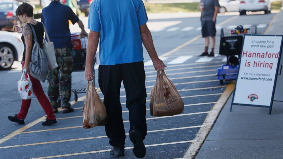 People Shop At A Supermarket In Portland Maine Sept 16 2015