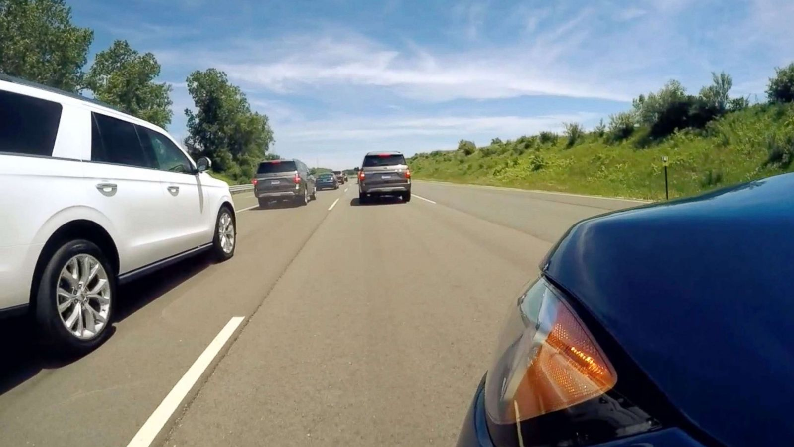 Fords Adaptive Cruise Control How It Could Reduce Stop And Go Traffic Abc News