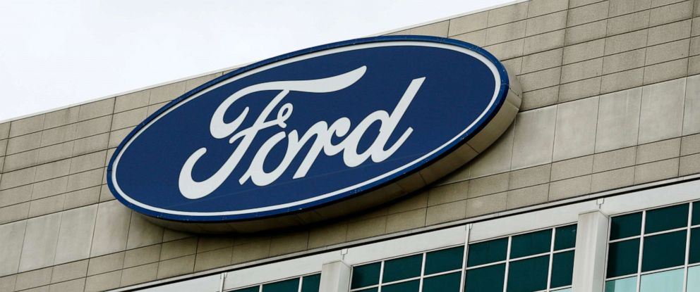 PHOTO: The Ford Motor Co. headquarters stands in Dearborn, Michigan, May 22, 2017.