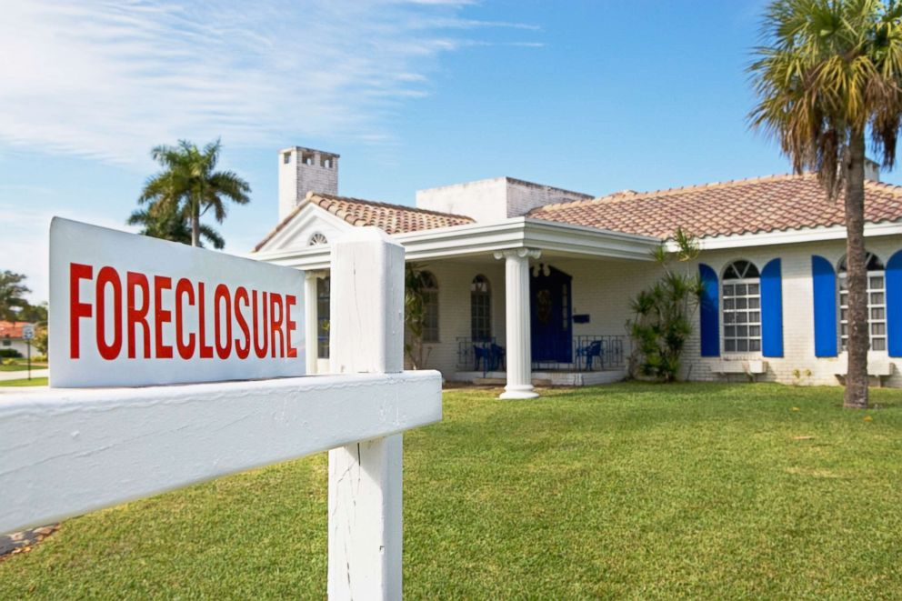 PHOTO: A sign is pictured in front of a house in this undated stock photo.
