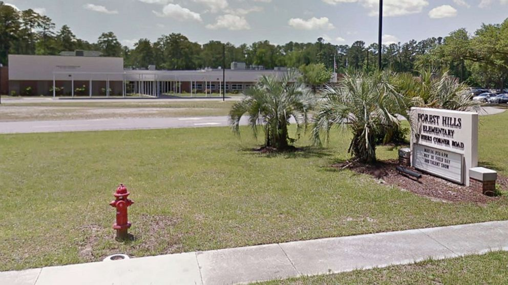 Forest Hills Elementary school is pictured in this undated image from Google.