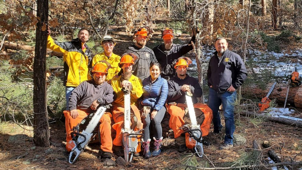 Former inmates start forestry company after working as firefighters in prison