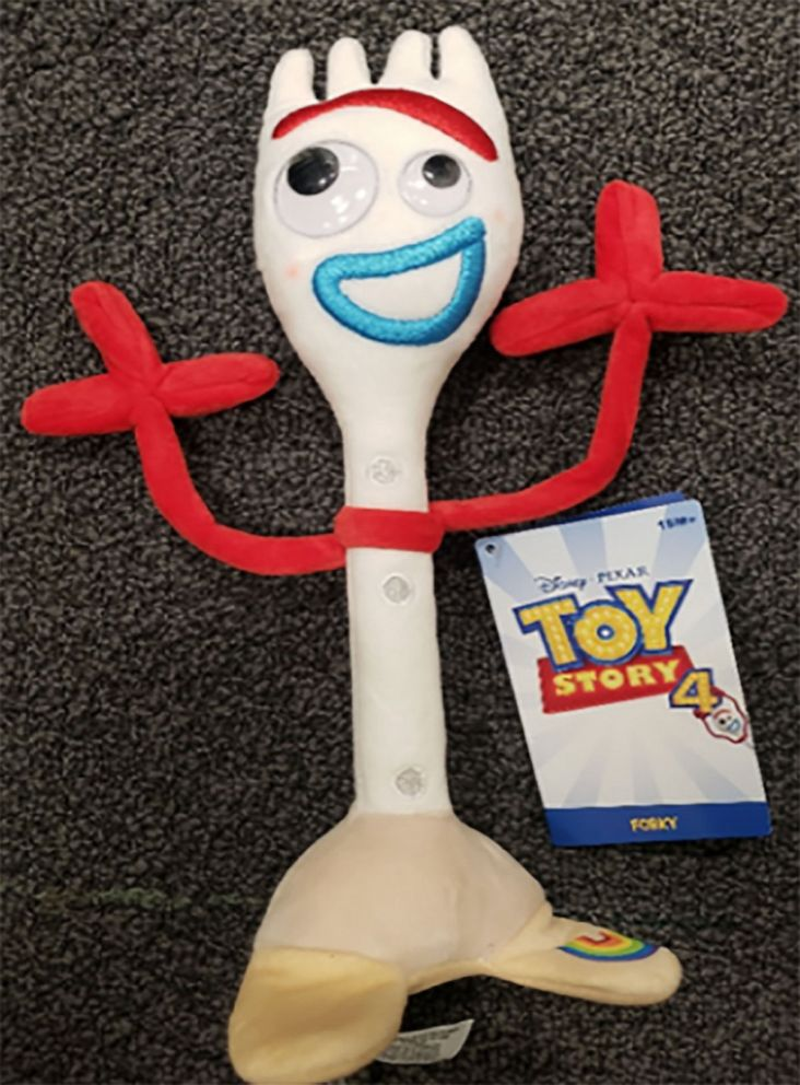 PHOTO: Disney Recalls the Forky 11 Plush Toy due to a choking hazard according to the Consumer Product Safety Commission.