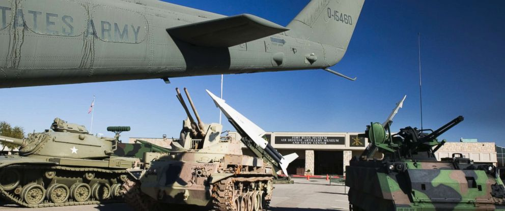 PHOTO: The Fort Bliss Army Air Defense Artillery Museum in El Paso, Texas appears in this undated photo.
