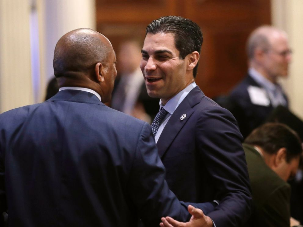 PHOTO: Miami Mayor Francis Suarez said the racially charged confrontation seen on video on Martin Luther King Jr. Day on Monday, Jan. 20, 2019, will not be tolerated.