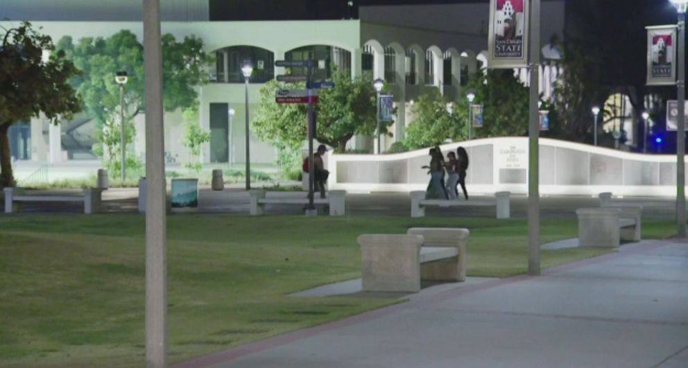 PHOTO: San Diego State University suspended several fraternities after a student was hospitalized.