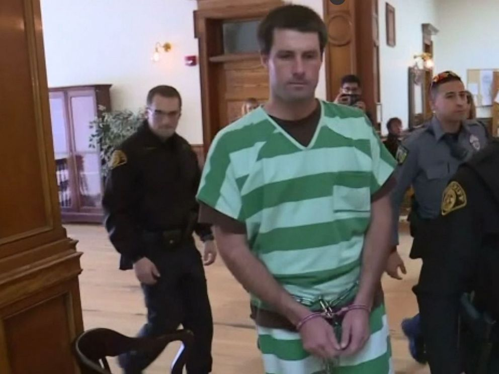 PHOTO: In this screen grab from a video, Patrick Frazee is shown walking in to court in Cripple Creek, CO.