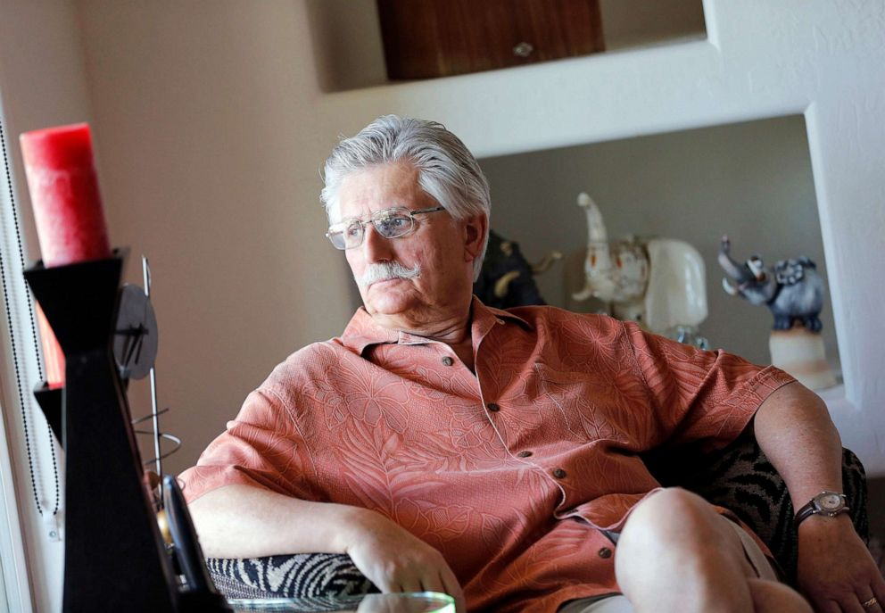 PHOTO: Fred Goldman, father of murder victim Ronald Goldman, in his home in Peoria, Ariz., May 20, 2014.