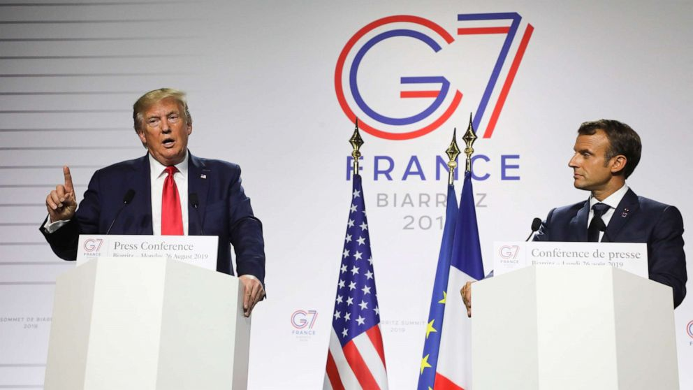 'Start Here': Trump shifts on China as G-7 leaders pledge millions for Amazon fires