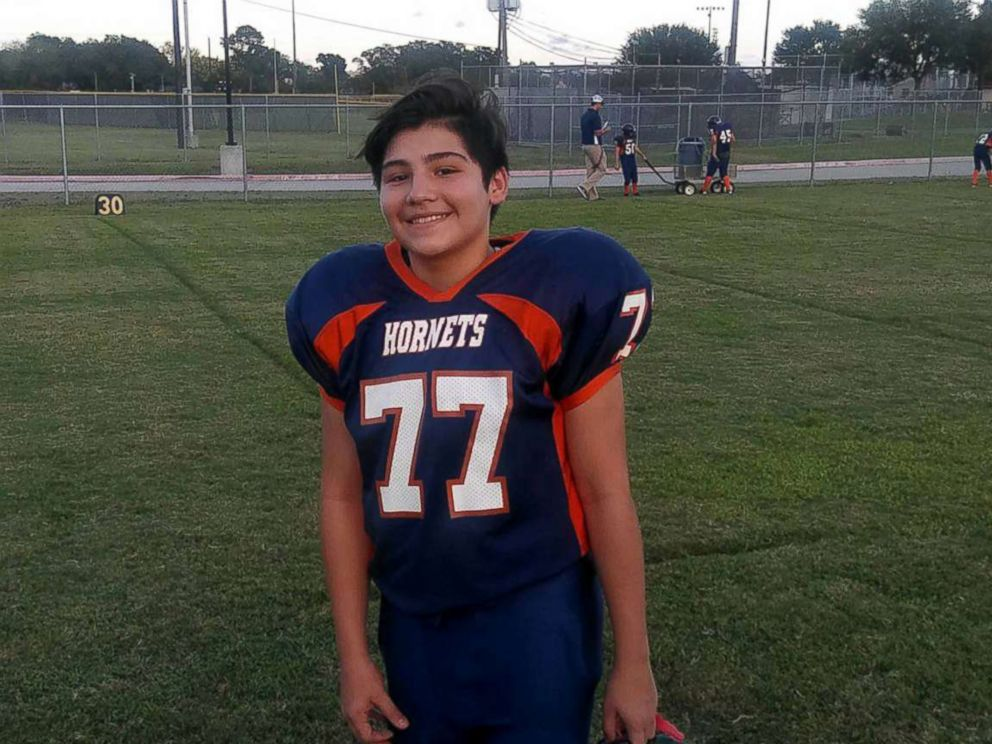 PHOTO: Jennifer Valdez said that her son Gabe Fernandez, 13, seen in this undated photo, was fatally shot while hanging out at a friends house on Saturday Jan. 19, 2019.