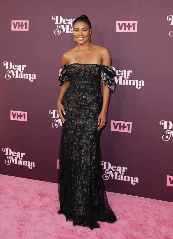 Gabrielle Union attends VH1's 3rd annual 'Dear Mama: A Love Letter To Moms' screening at The Theatre at Ace Hotel in Los Angeles, May 3, 2018.