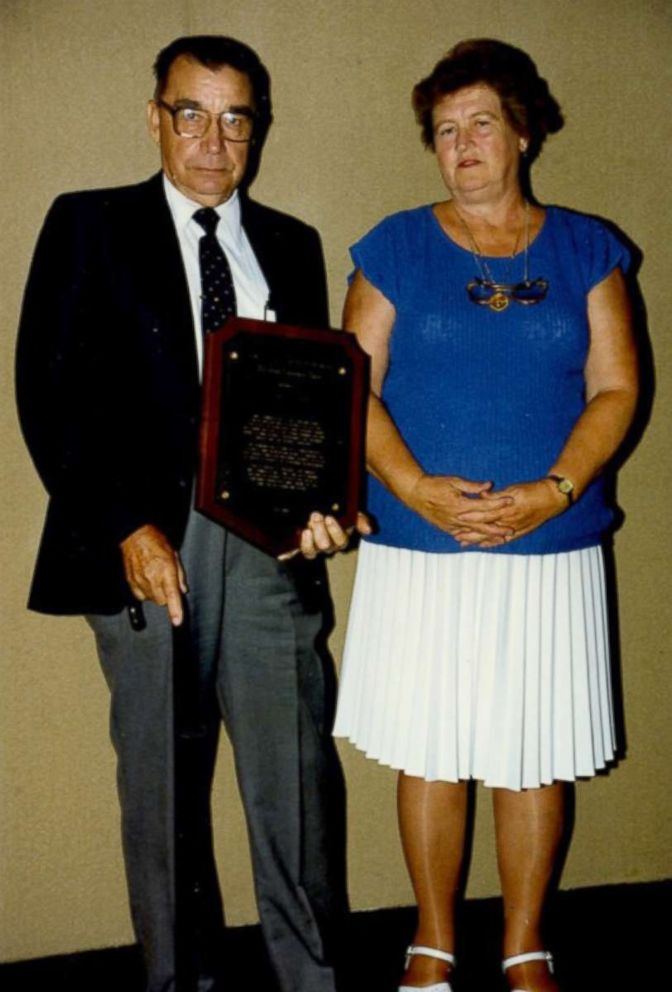 PHOTO: U.S. Army 1st Lt. Garlin M. Conner with wife Pauline at a Farm Bureau Convention in Louisville, Ky.