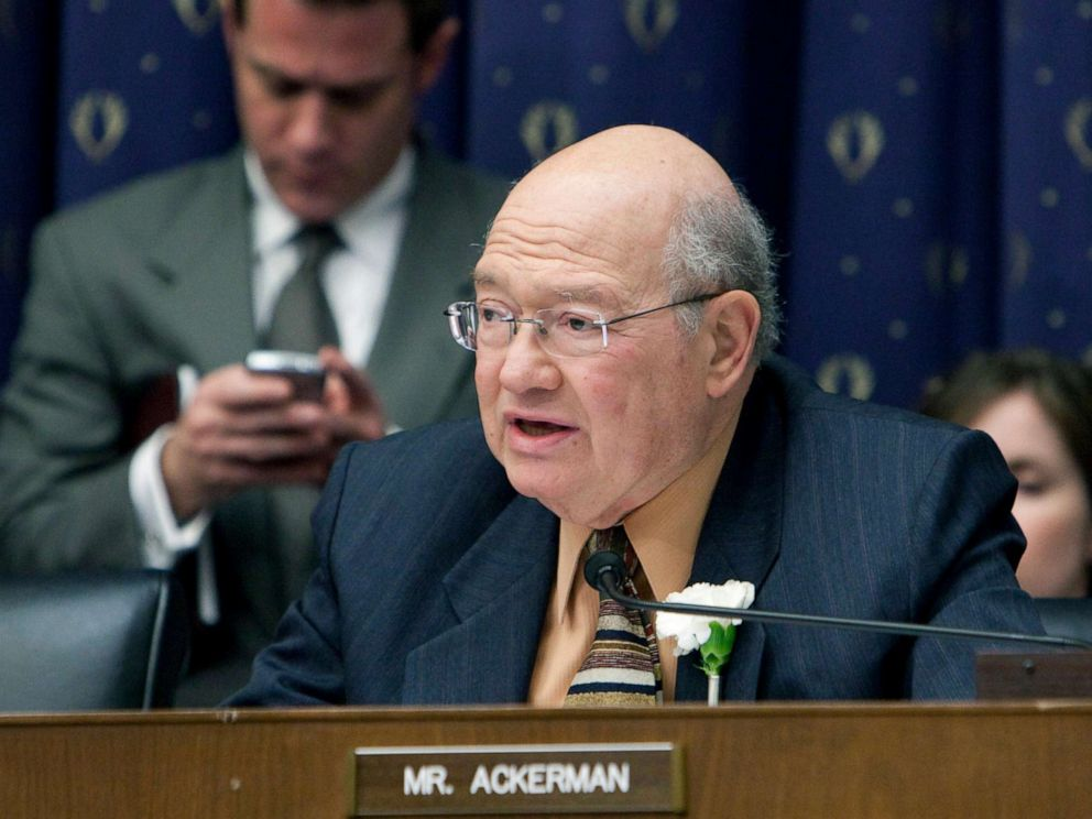 PHOTO: Rep. Gary Ackerman, a Democrat from New York, questions bank executives during a House Financial Services Committee hearing in Washington, D.C., Feb. 11, 2009.