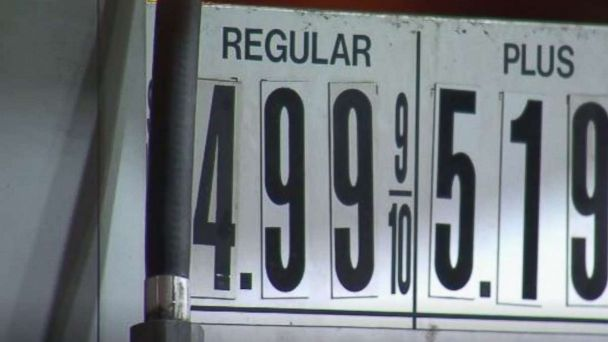 Gas prices up 5 cents this week, 52 cents from 2017