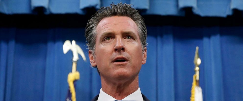 PHOTO: California Gov. Gavin Newsom during a news conference in Sacramento, Calif., July 23, 2019.