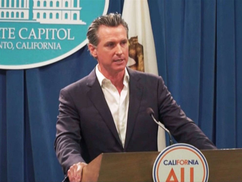 California Gov. Gavin Newsom issues executive order to ...