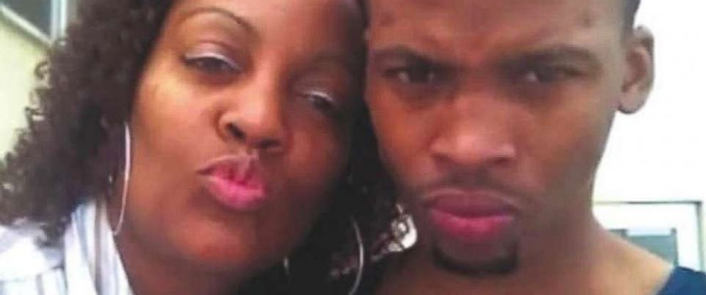 PHOTO: Gemmel Moore and his mom are seen in this undated photo.