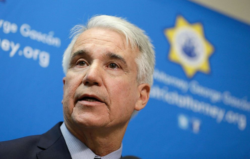 San Francisco District Attorney George Gascon speaks during a news conference in San Francisco, Dec. 9, 2014.