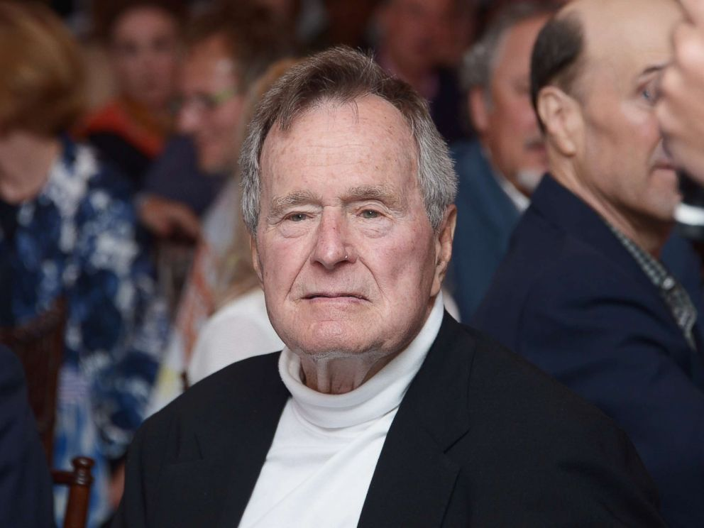 PHOTO: Former President George H.W. Bush celebrates his 88th birthday on June 12, 2012 in Kennebunkport, Maine.