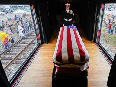 Honoring former President George H.W. Bush