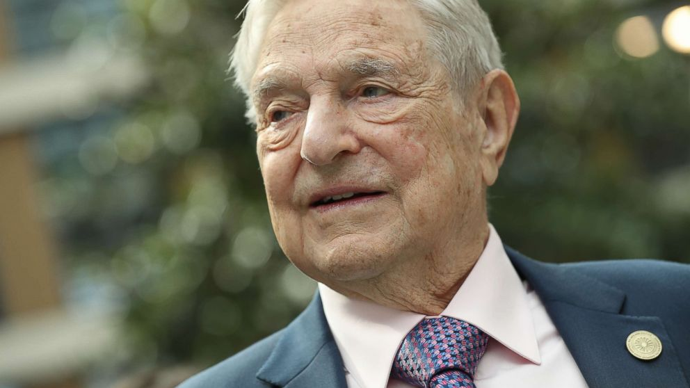 Financier and philanthropist George Soros attends the official opening of the European Roma Institute for Arts and Culture (ERIAC) at the German Foreign Ministry on June 8, 2017 in Berlin.