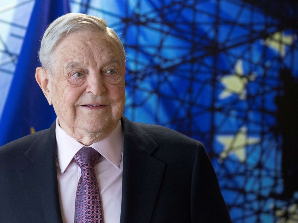 PHOTO: In this file photo, billionaire investor George Soros meets with European Union Commission President Jean Claude Juncker (not seen) in Brussels, April 27, 2017.