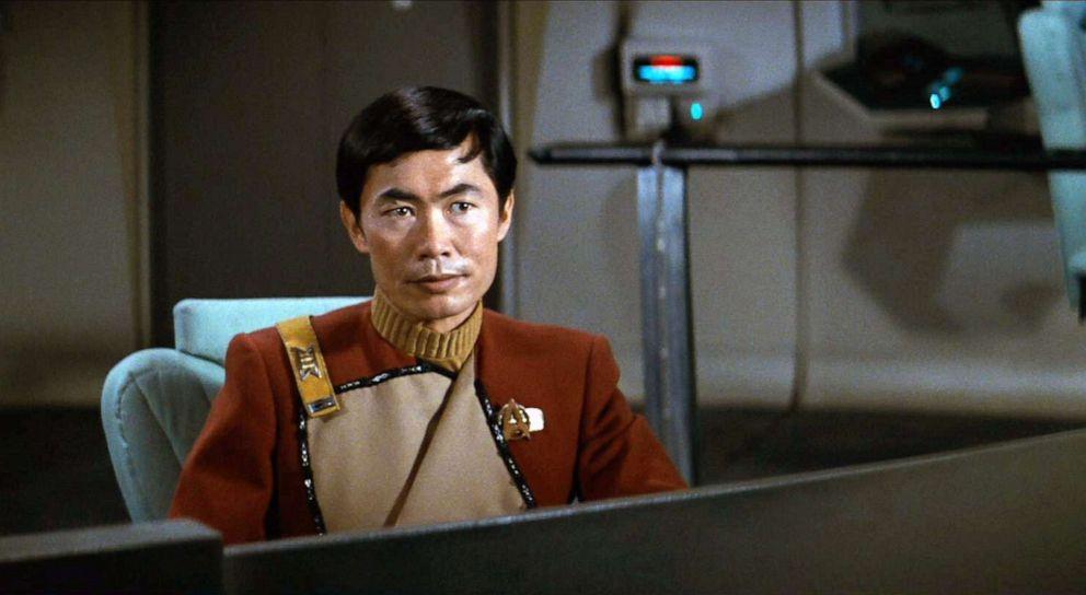 PHOTO: George Takei, as Commander Hikaru Sulu, in the movie, Star Trek II: The Wrath of Khan.
