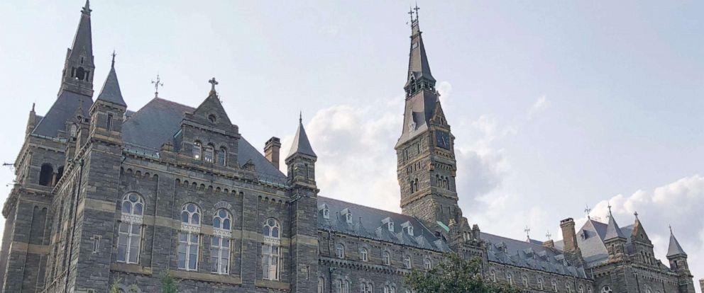 PHOTO: Georgetown University campus in Washington, D.C., Aug. 19, 2018.