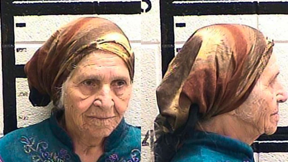 A photo released by the Murray County Jail, in Ga. showing Martha Al-Bishara, 87, who was charged with criminal trespass and obstructing an officer, August 10, 2018.