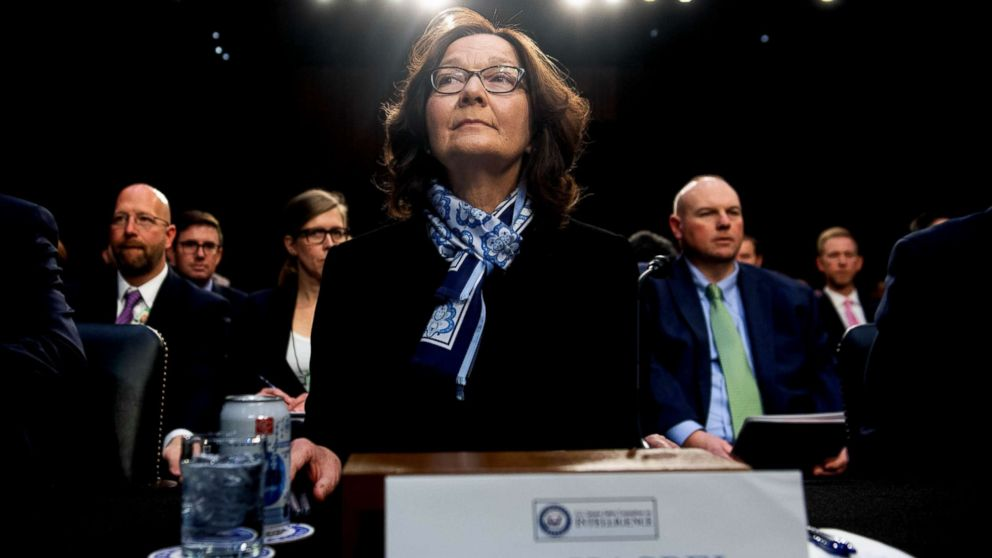Gina Haspel, director of the Central Intelligence Agency testifies on Worldwide Threats during a Senate Select Committee on Intelligence hearing on Capitol Hill in Washington, D.C., Jan. 29, 2019.