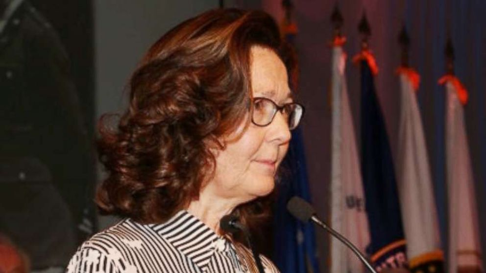 Gina Haspel is seen here at  the 2017 William J. Donovan Award dinner, Oct. 21, 2017.