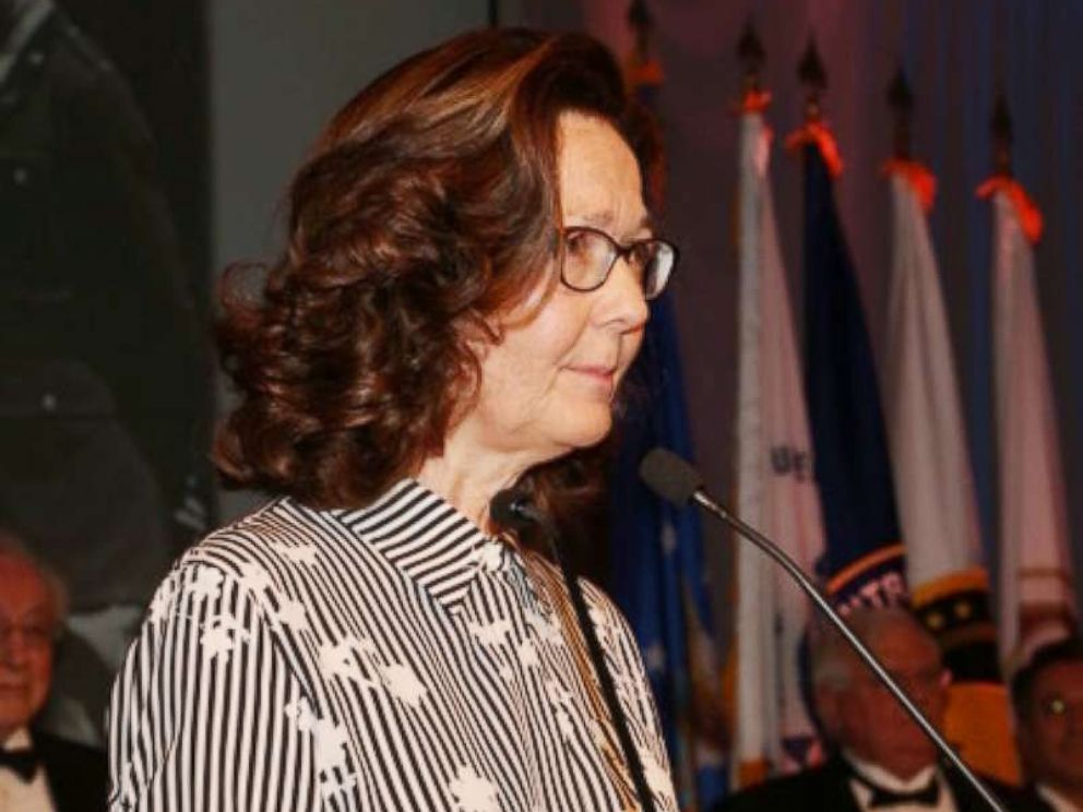 PHOTO: Gina Haspel is seen here at the 2017 William J. Donovan Award dinner, Oct. 21, 2017.