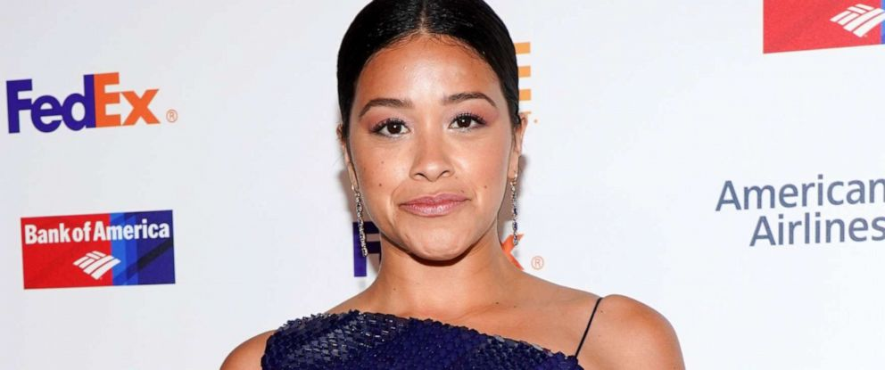 PHOTO: Gina Rodriguez attends the 50th NAACP Image Awards Non-Televised Dinner at Beverly Hilton Hotel, March 29, 2019, in Beverly Hills, Calif.