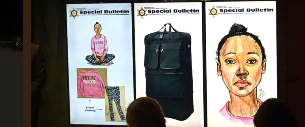 PHOTO: Authorities are asking for the publics help as they investigate the death of a little girl whose body was found near a Los Angeles equestrian trail.