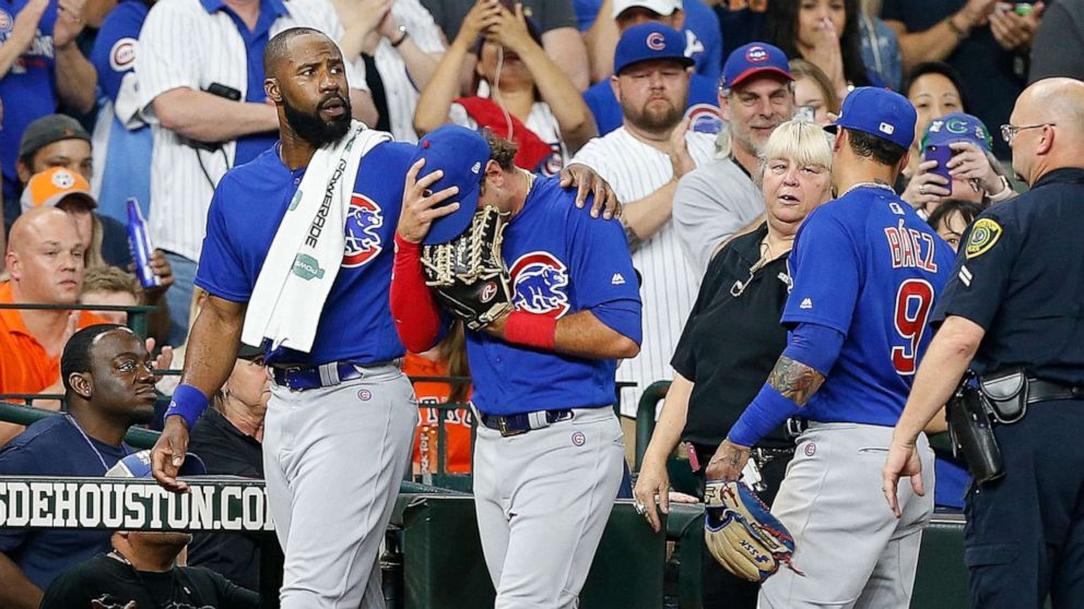 Astros Game >> Young Girls Hit With Foul Ball At Cubs Astros Game