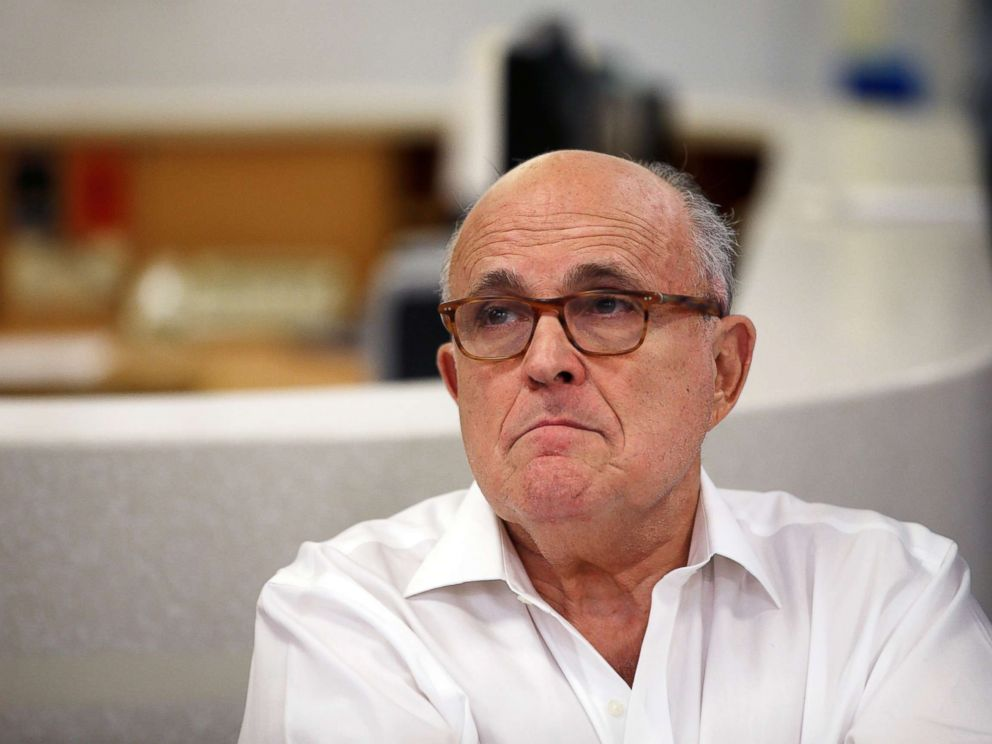 Rudy Giuliani says Michael Cohen should cooperate with federal investigators