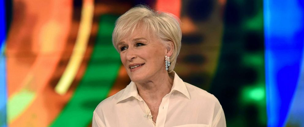 "PHOTO: Glenn Close discusses the stigma associated with the mentally unstable in media on ""The View,"" Feb. 8, 2019."