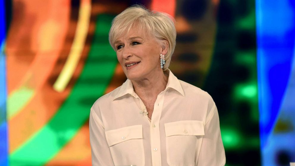 "Glenn Close discusses the stigma associated with the mentally unstable in media on ""The View,"" Feb. 8, 2019."