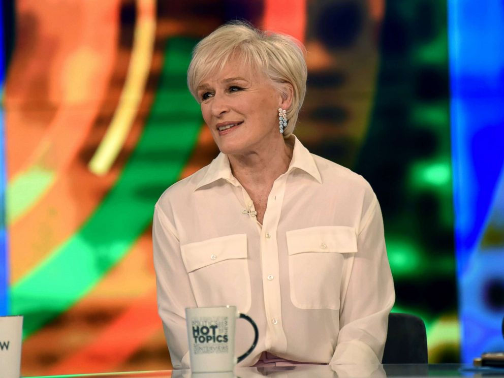 PHOTO: Glenn Close discusses the stigma associated with the mentally unstable in media on The View, Feb. 8, 2019.