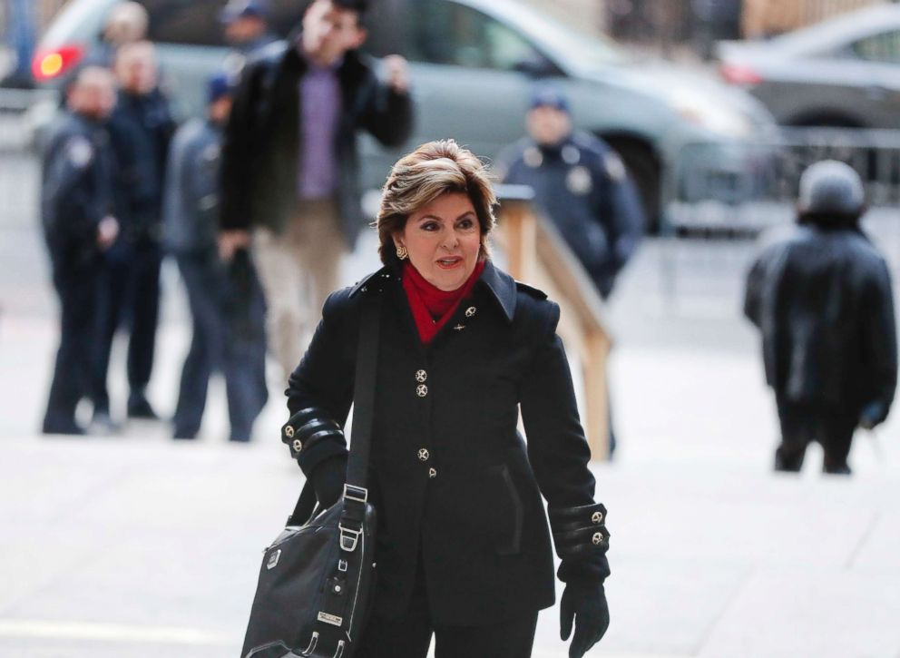 PHOTO: Attorney Gloria Allred arrives at New York Supreme Court, Dec. 20, 2018, in N.Y.