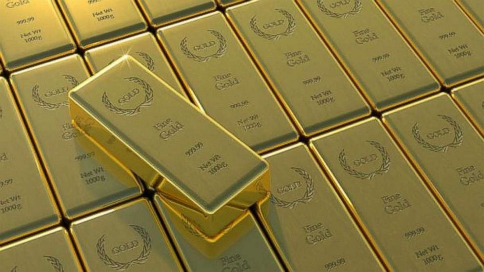 Gold bars are pictured in this undated stock photo.