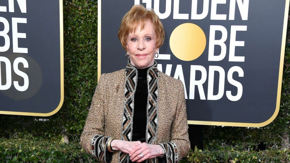 Carol Burnett attends the 76th annual Golden Globe awards at the Beverly Hilton Hotel, Jan. 6, 2019 in Beverly Hills, Calif.