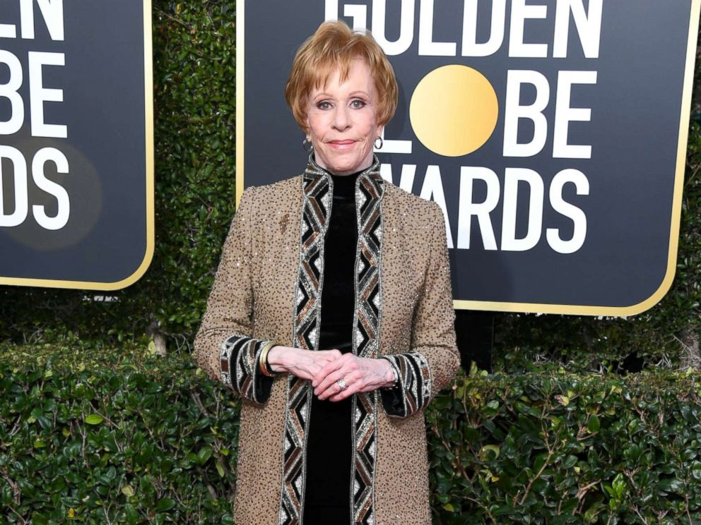 PHOTO: Carol Burnett attends the 76th annual Golden Globe awards at the Beverly Hilton Hotel, Jan. 6, 2019 in Beverly Hills, Calif.