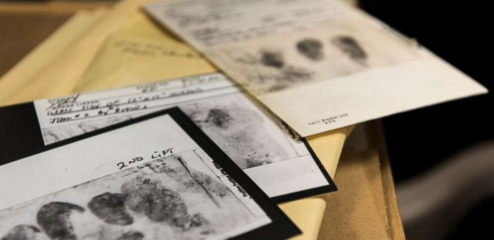 PHOTO: Among the evidence collected in the Golden State Killer cold case were fingerprints lifted from crime scenes, shoe treads, and DNA.