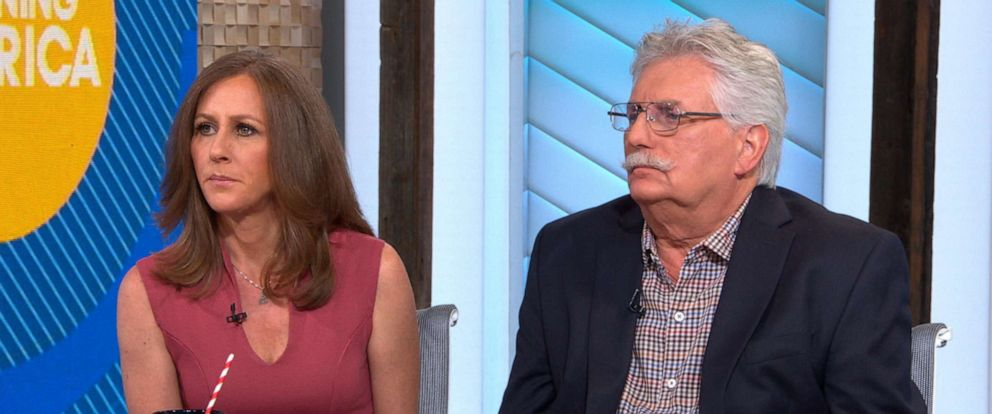 "PHOTO: Kim Goldman and Fred Goldman appear on ""Good Morning America,"" June 12, 2019."